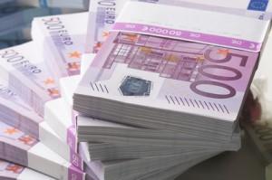 Geldscheinstapel