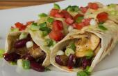 Mexican Burrito raffinierte vegetarische Variante