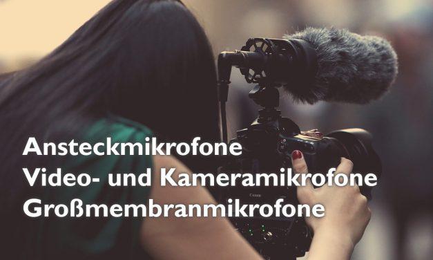 Vertonung Videoaufnahmen – externe Mikrofone