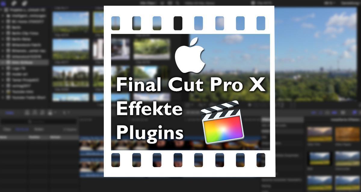 Final Cut Pro X – Plugins