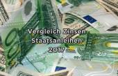 Zinsen Staatsanleihen 2017