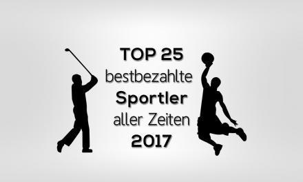 Die 25 bestbezahlten Sportler aller Zeiten