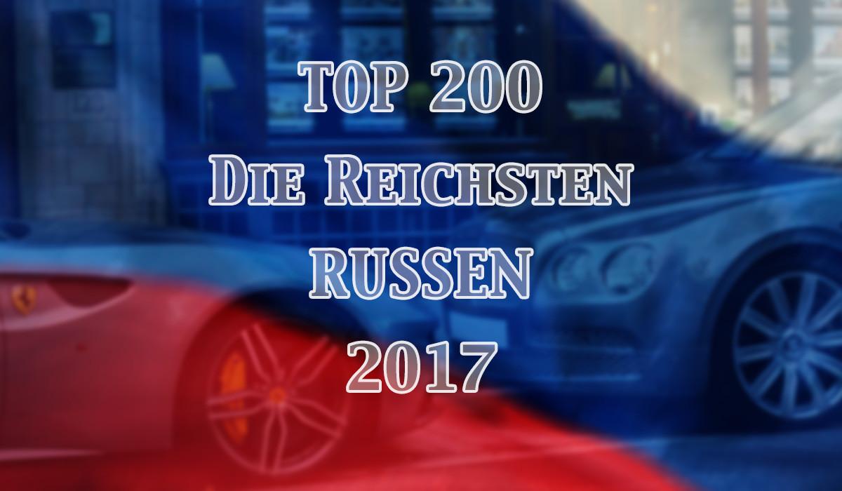 Die reichsten Russen 2017 – Die Forbes Milliardärsliste für Russland