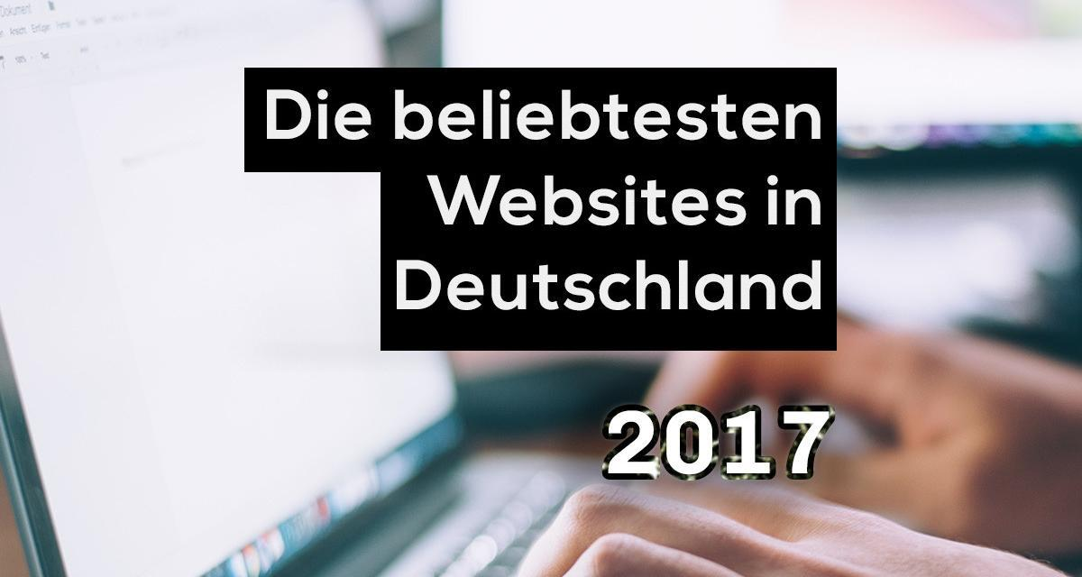 Die populärsten Websites in Deutschland