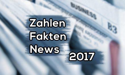Zahlen, Fakten, News 2017