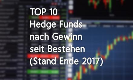 Die erfolgreichsten Hedge Funds aller Zeiten