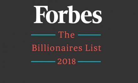 Forbes Milliardärsliste 2018 – Die reichsten Menschen der Welt