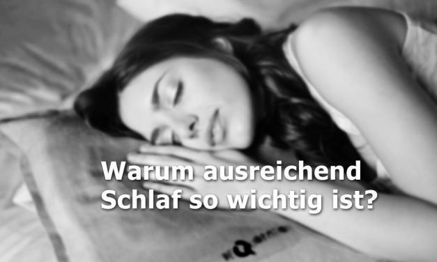 Ausreichend Schlaf ist für die Gesundheit und Wohlbefinden unerlässlich