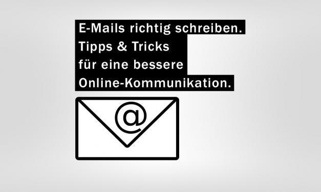 Tipps zur E-Mail und Online-Kommunikation