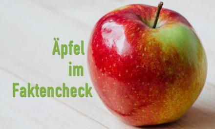 Äpfel im Faktencheck