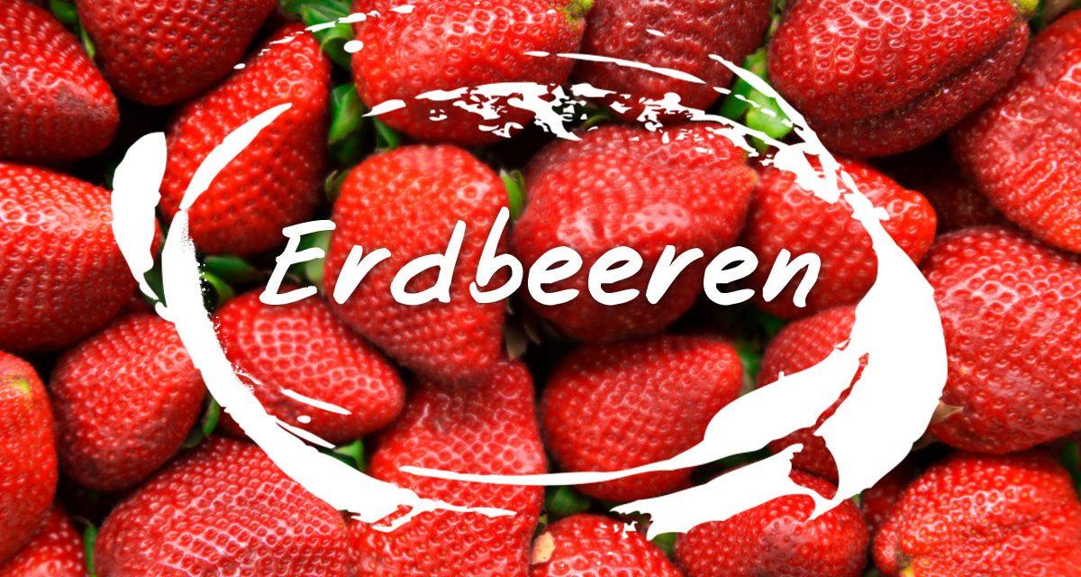 Erdbeeren gehören mit zu den gesündesten Obstsorten