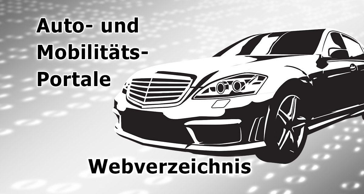 Auto und Mobilitäts-Portale (Verzeichnis, Links)