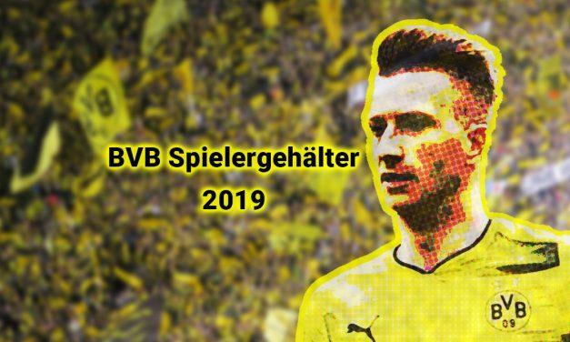 BVB Fußballspieler Jahresgehälter 2019