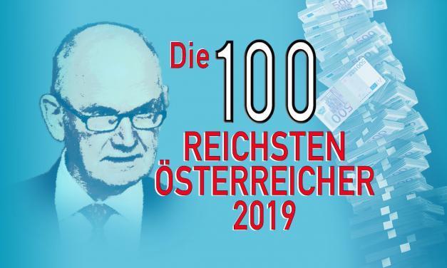 Die 100 Reichsten Österreicher 2019 – Reichenliste Österreich