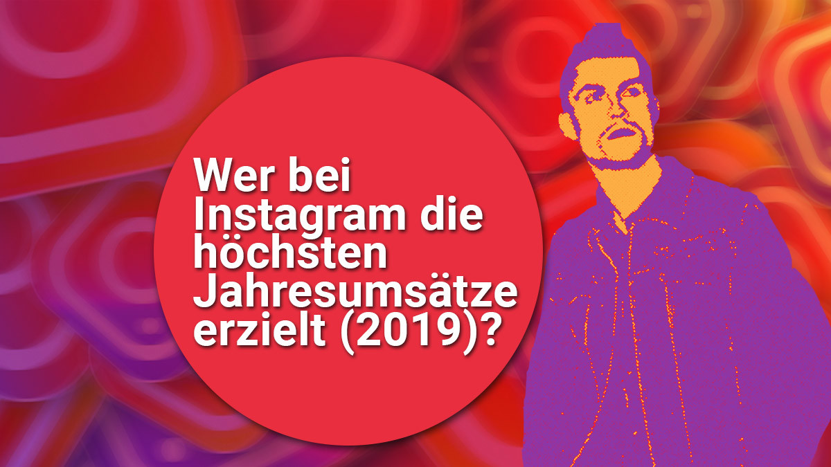 Welcher Star verdient mit Instagram am meisten?