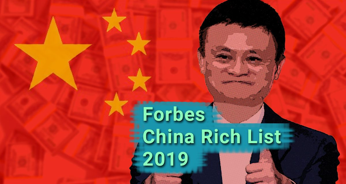 China Reichenliste Forbes 2019